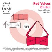 Cake Patterns RiFF - Clutch Bag